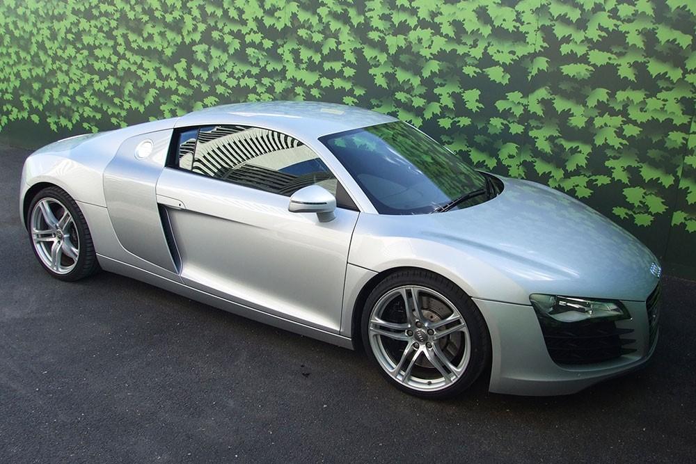 Audi Hire - Silver Audi R8