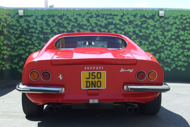 Ferrari Dino for Hire