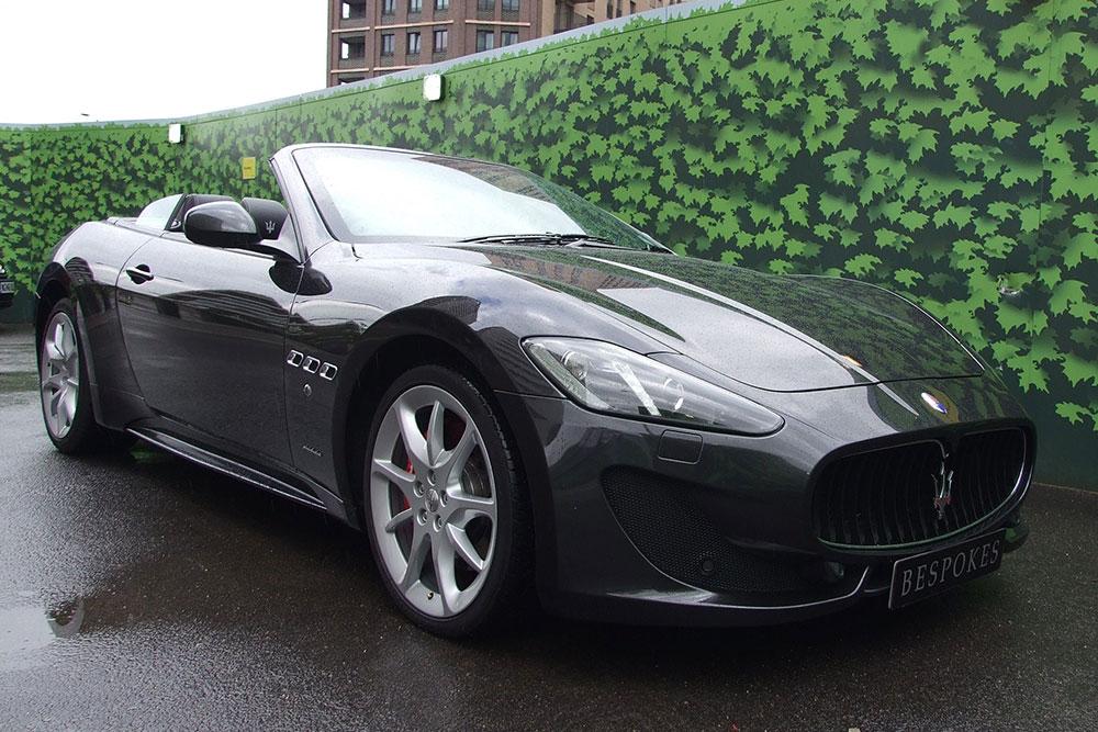 Maserati Hire - Gran Cabrio SPort