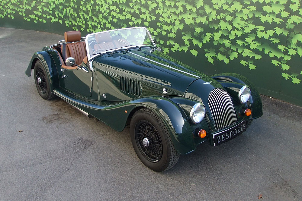 Morgan hire bespokes for The morgan