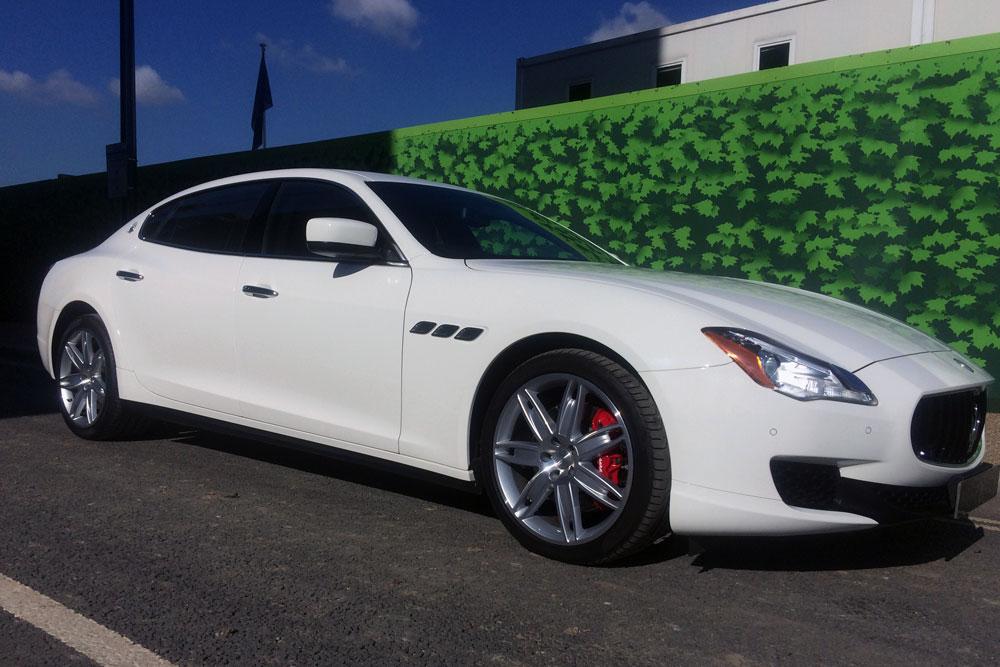 Maserati Quattroporte Hire