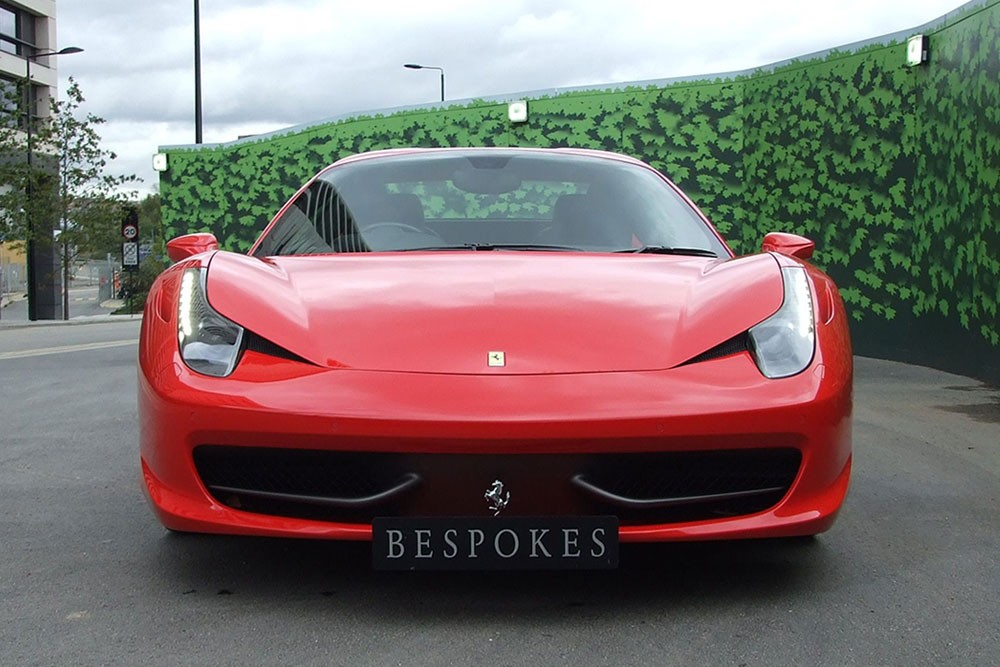 Ferrari 458 Spider – Hire Now Available