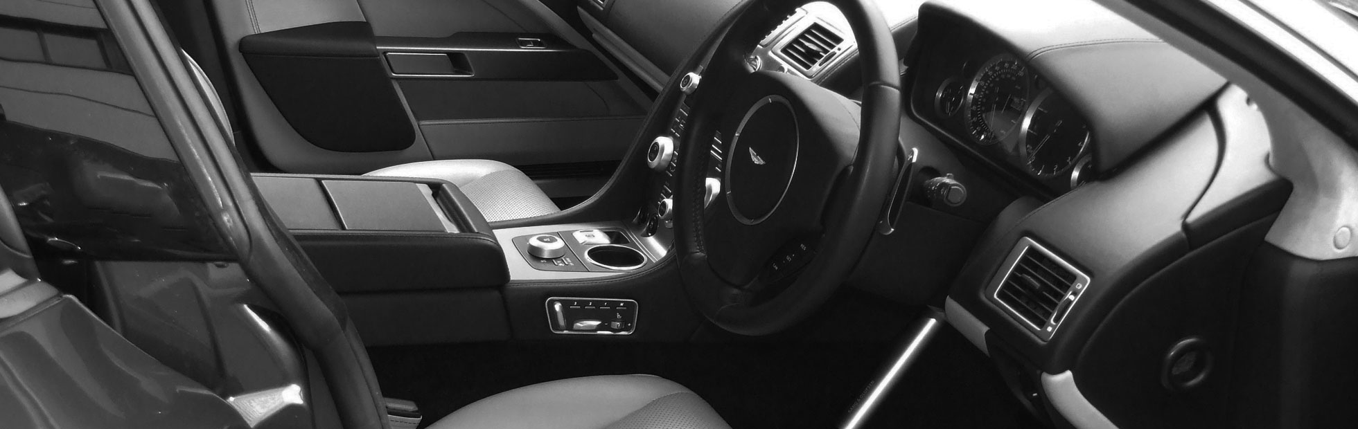 Luxury Car Hire Interior